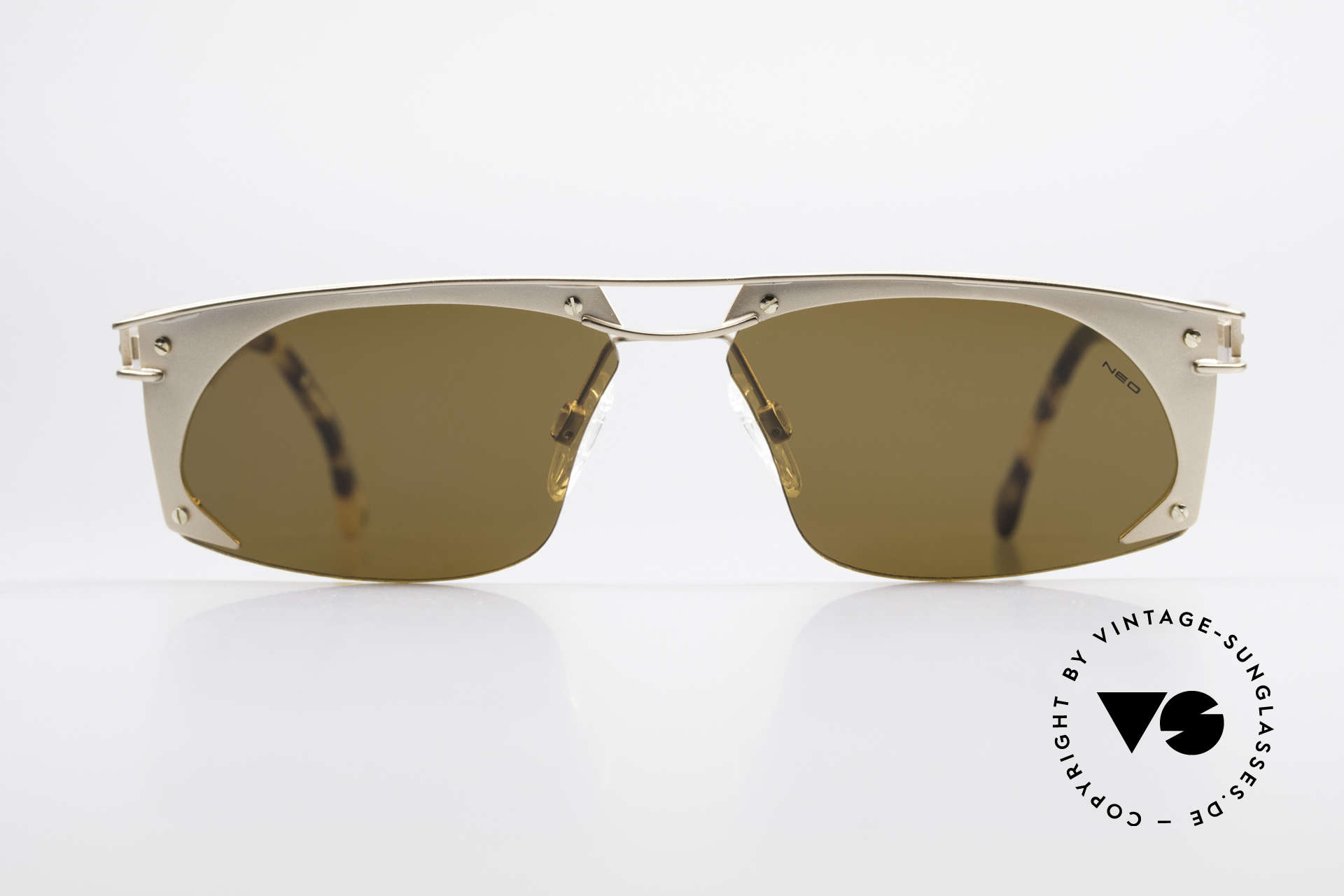 Neostyle Holiday 968 Vintage Steampunk Sunglasses, spectacular frame construction (Industrial Style), Made for Men