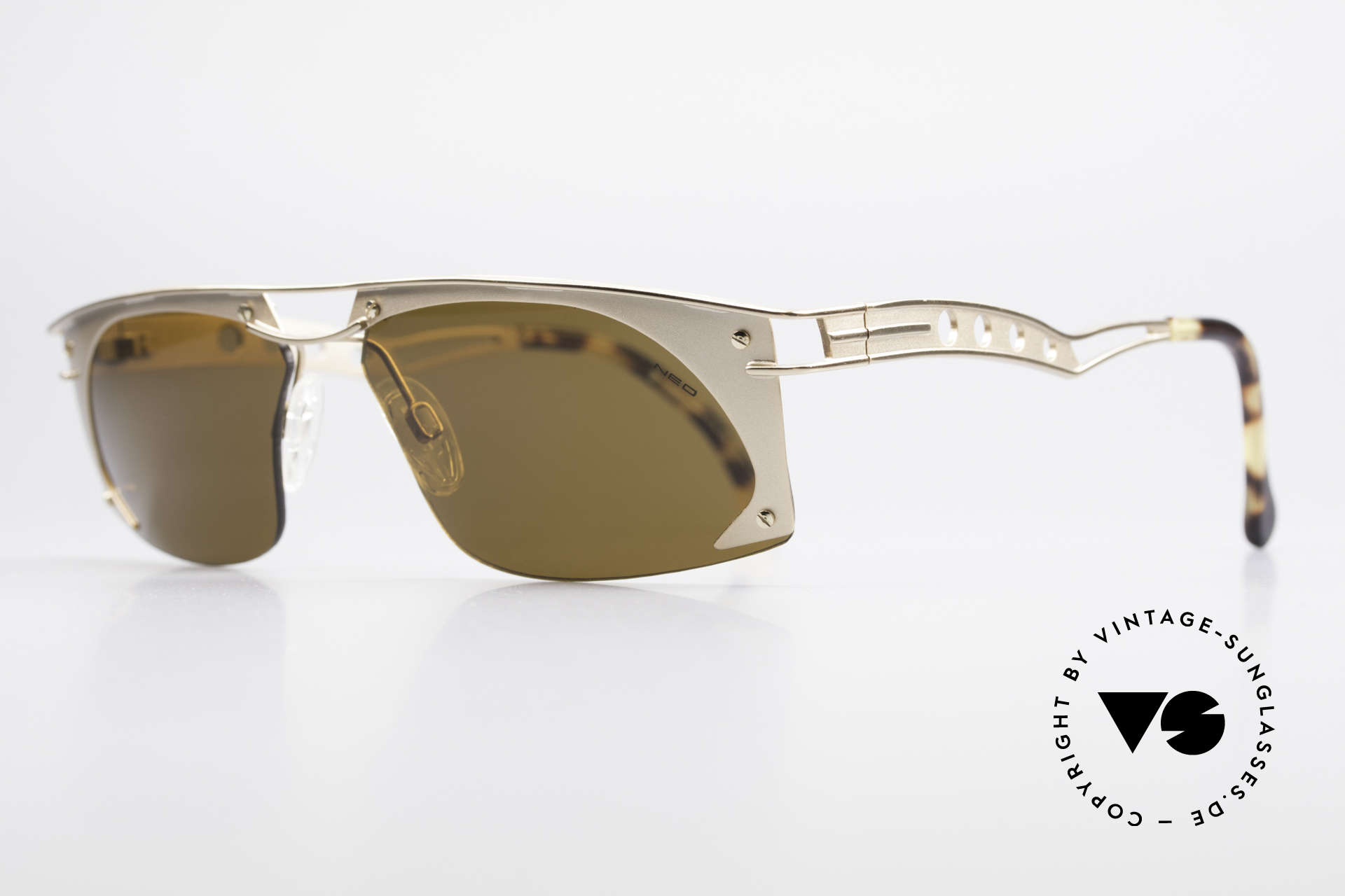 """Neostyle Holiday 968 Vintage Steampunk Sunglasses, often called as """"STEAMPUNK glasses"""" these days, Made for Men"""