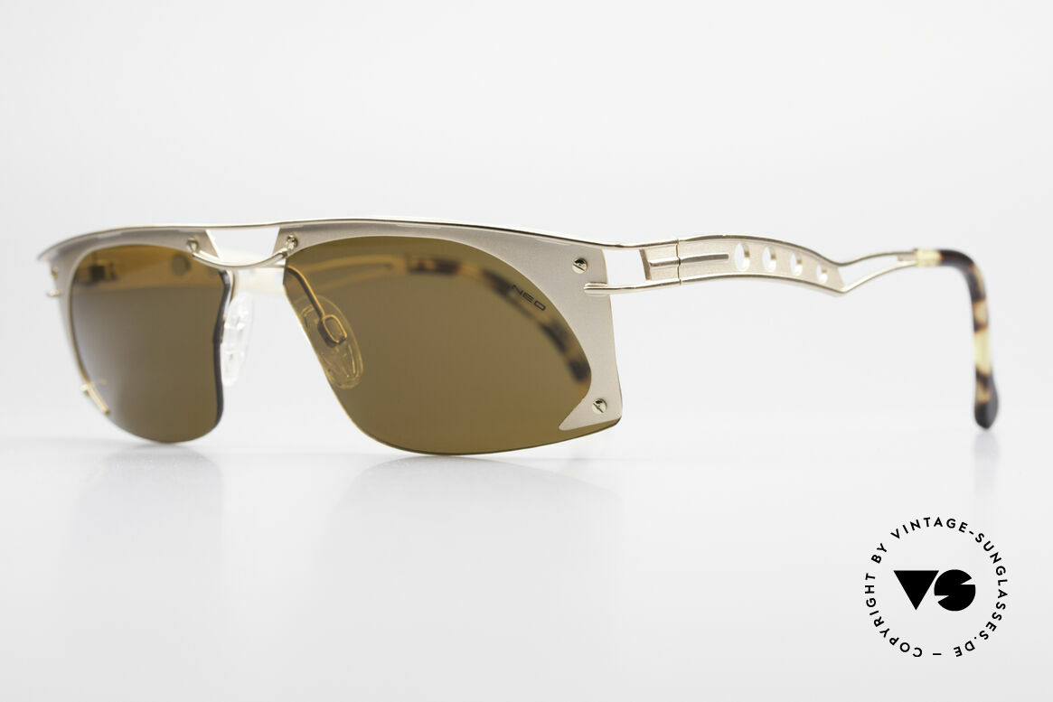 Neostyle Holiday 968 Vintage Steampunk Sunglasses