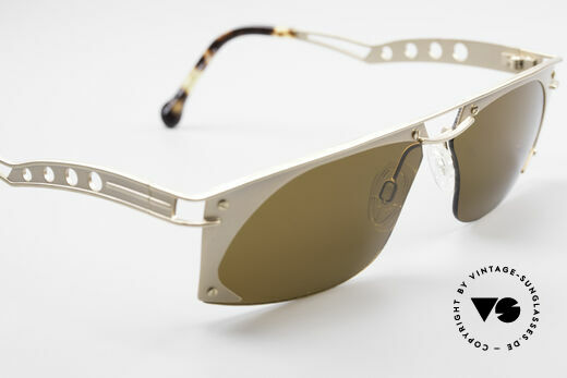 Neostyle Holiday 968 Vintage Steampunk Sunglasses, NO RETRO shades, but a rare ORIGINAL with case, Made for Men