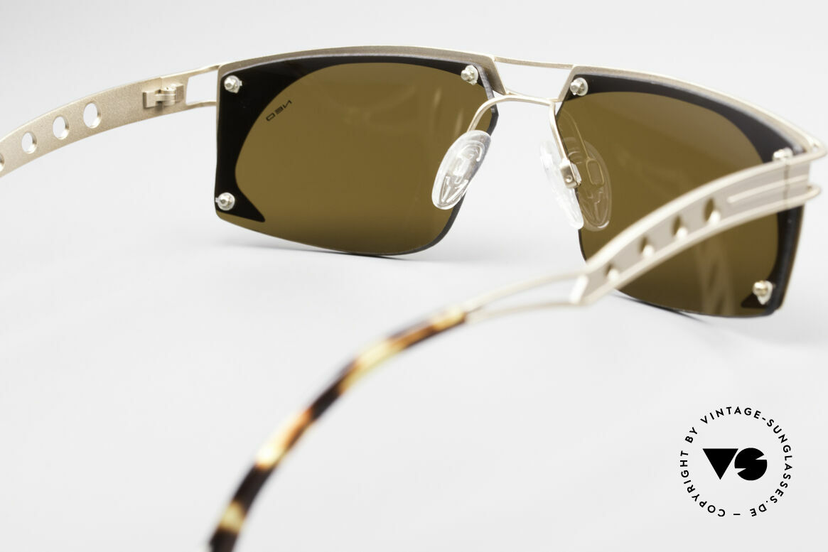 Neostyle Holiday 968 Vintage Steampunk Sunglasses, Size: medium, Made for Men