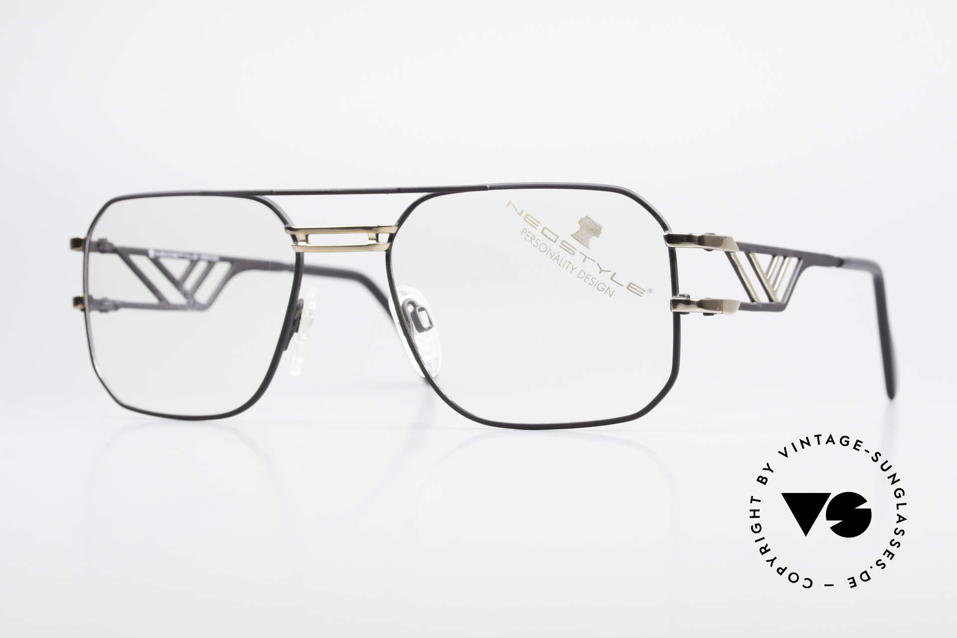 Neostyle Boutique 306 Champion Vintage Frame 80s, monolithic vintage 80's eyeglasses by Neostyle, Made for Men