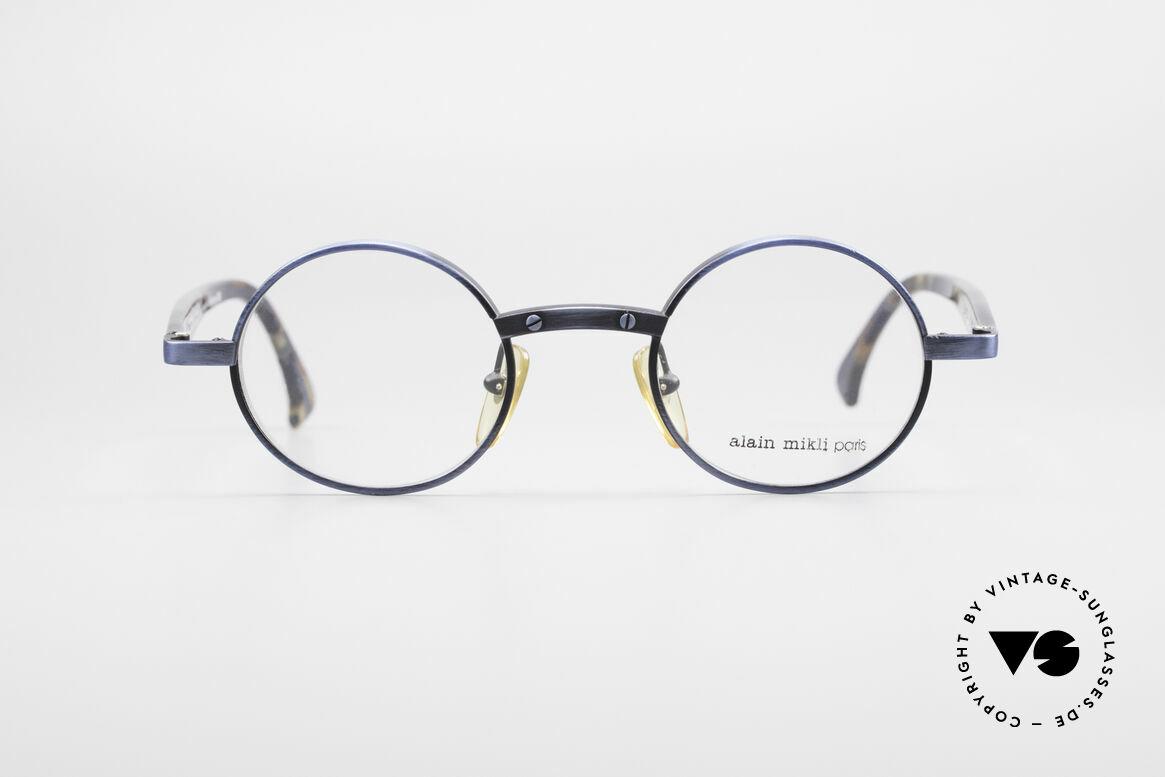 Alain Mikli 1218 / 3218 Round Designer Glasses 90's, vintage Alain MIKLI designer eyeglasses from 1990, Made for Men and Women