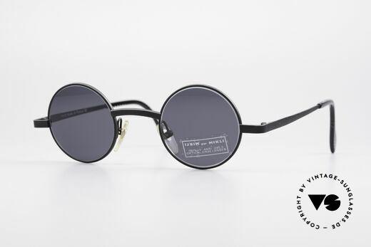 d14fc1edb7f6 Alain Mikli 7684 / 6684 Round Unisex Sunglasses 90s Details