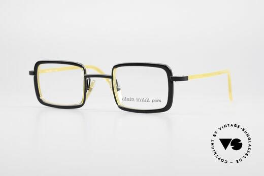 Alain Mikli 1153 / 1168 Square Designer Frame 90's Details