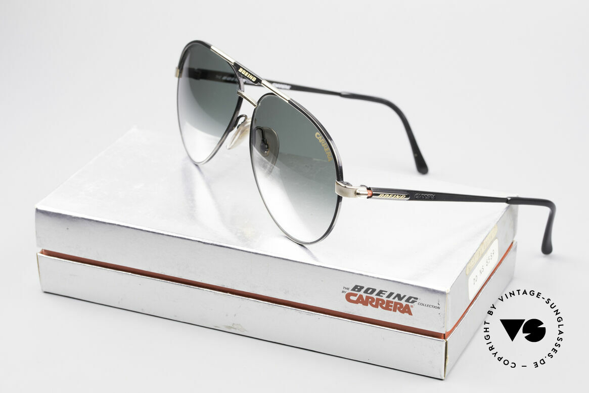 Boeing 5733 Rare 80's Pilots Glasses Men