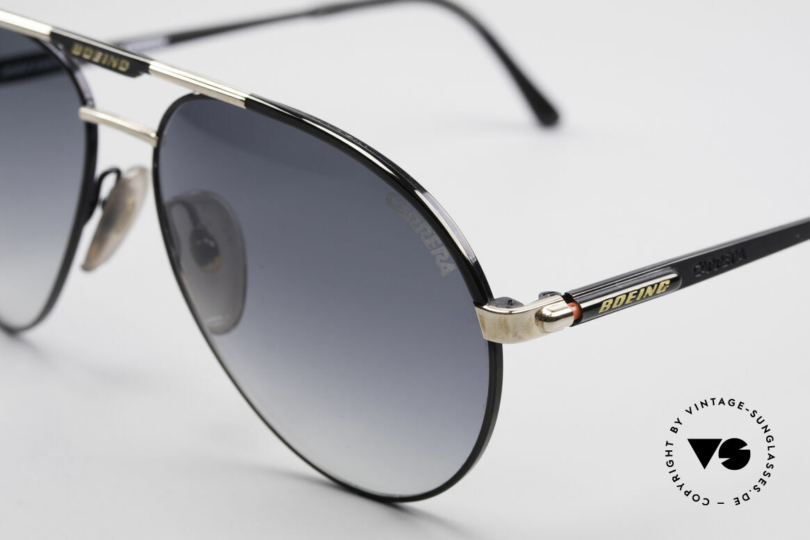 Boeing 5733 Rare 80's Pilots Shades Men, high-end quality & simply precious (gold plated parts), Made for Men