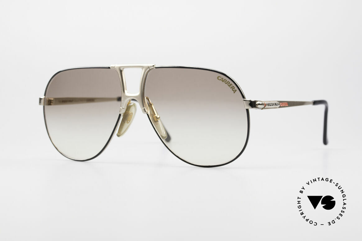 Boeing 5731 Small 80's Aviator Sunglasses, 'The Boeing Collection by Carrera' - SMALL size 57/12, Made for Men and Women