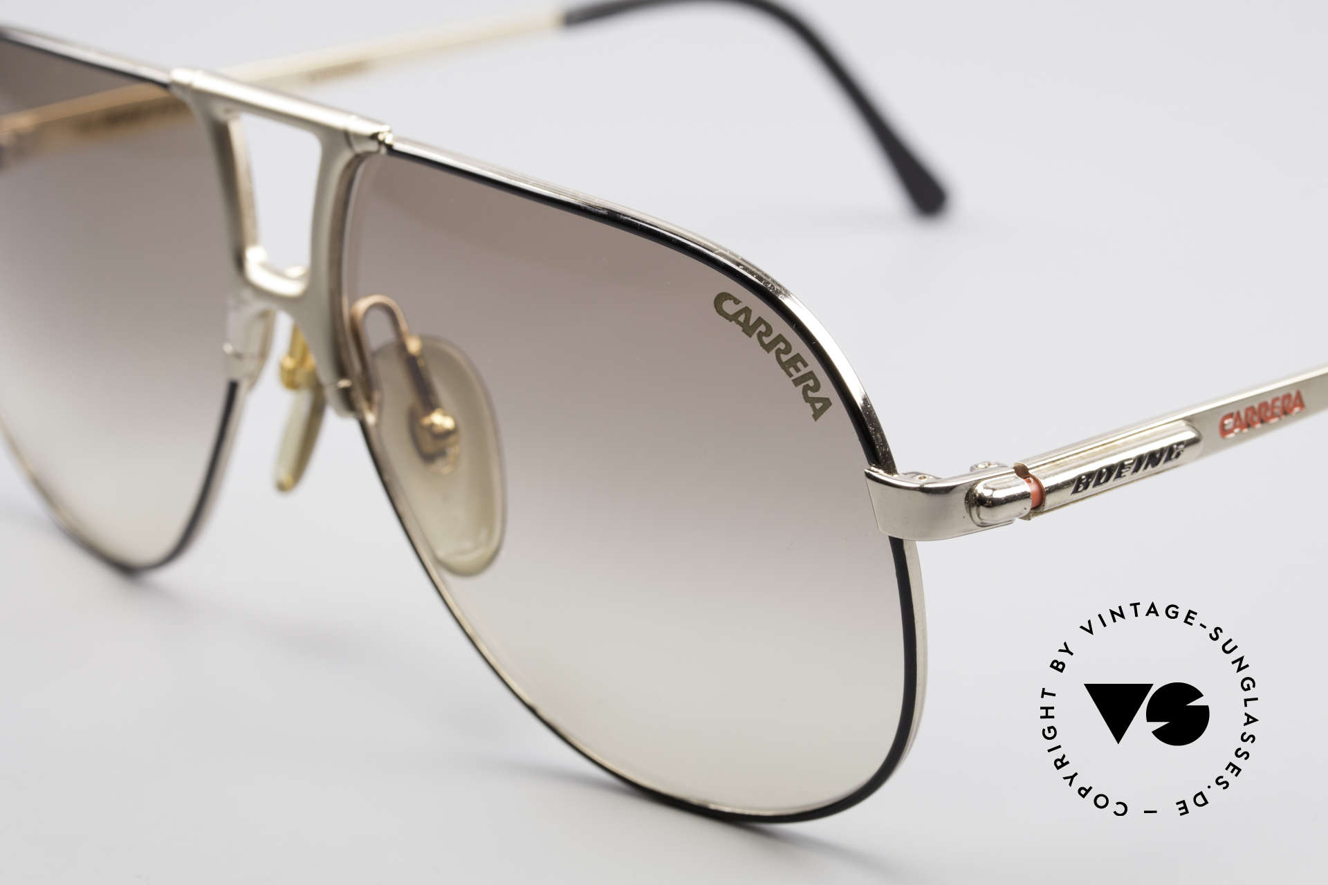 Boeing 5731 Small 80's Aviator Sunglasses, high-end quality & simply precious (gold plated frame), Made for Men and Women