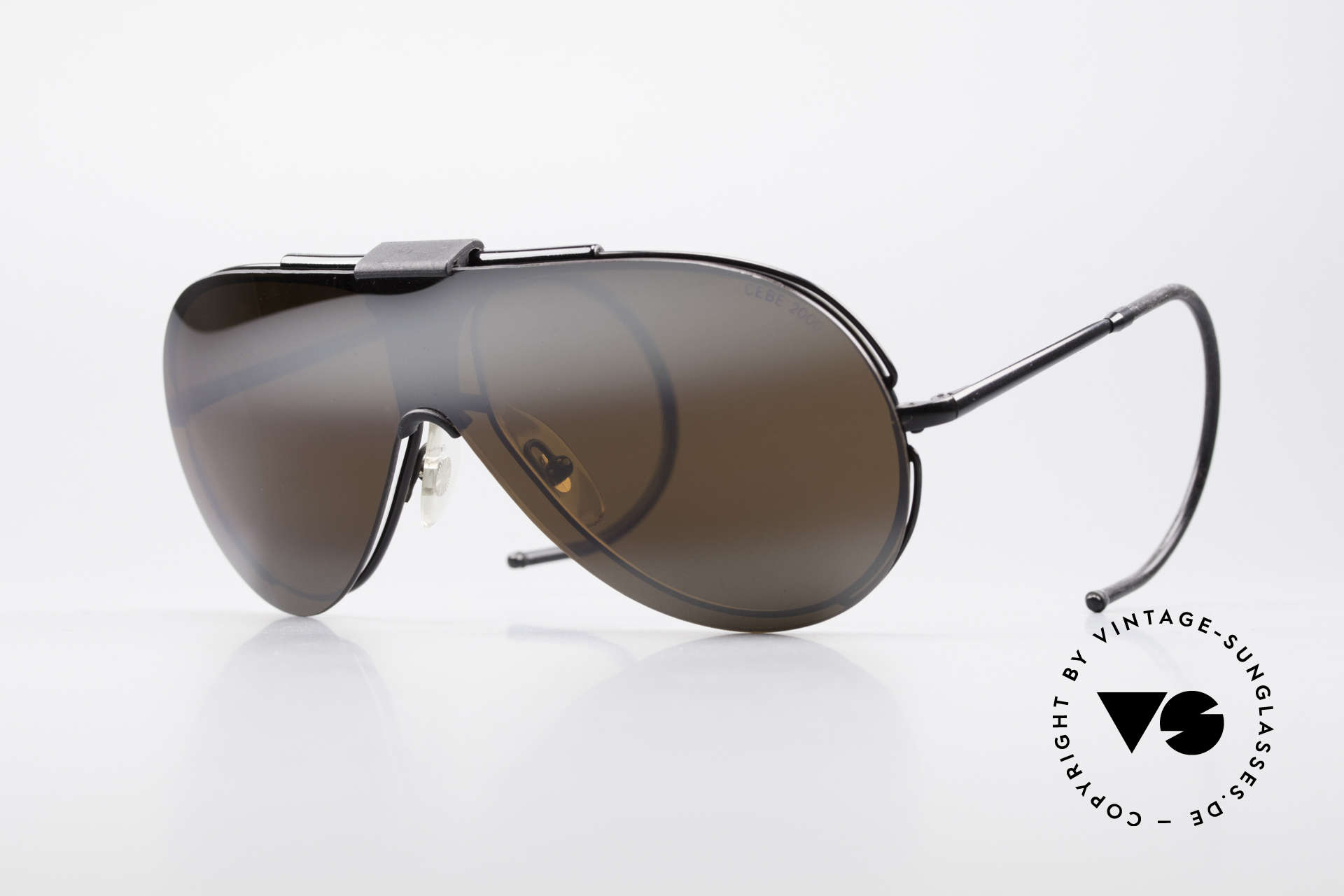 Cebe 2000 Rare Rallye Sports Shades, vintage CEBE sports shades - made for extreme purpose, Made for Men