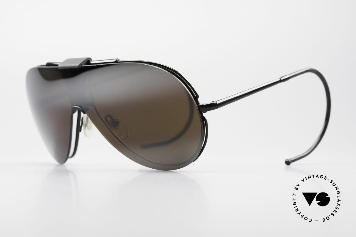 Cebe 2000 Rare Rallye Sports Shades, removable SUN CLIP (usable as regular eyeglasses, too), Made for Men