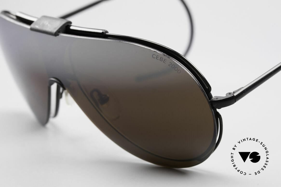 Cebe 2000 Rare Rallye Sports Shades, mirrored sun-shade (for high sun intensity), 100% UV!, Made for Men