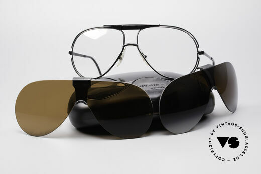 Cebe 2000 Rare Rallye Sports Shades, NO retro shades; but an ingenious 30 years old original!, Made for Men