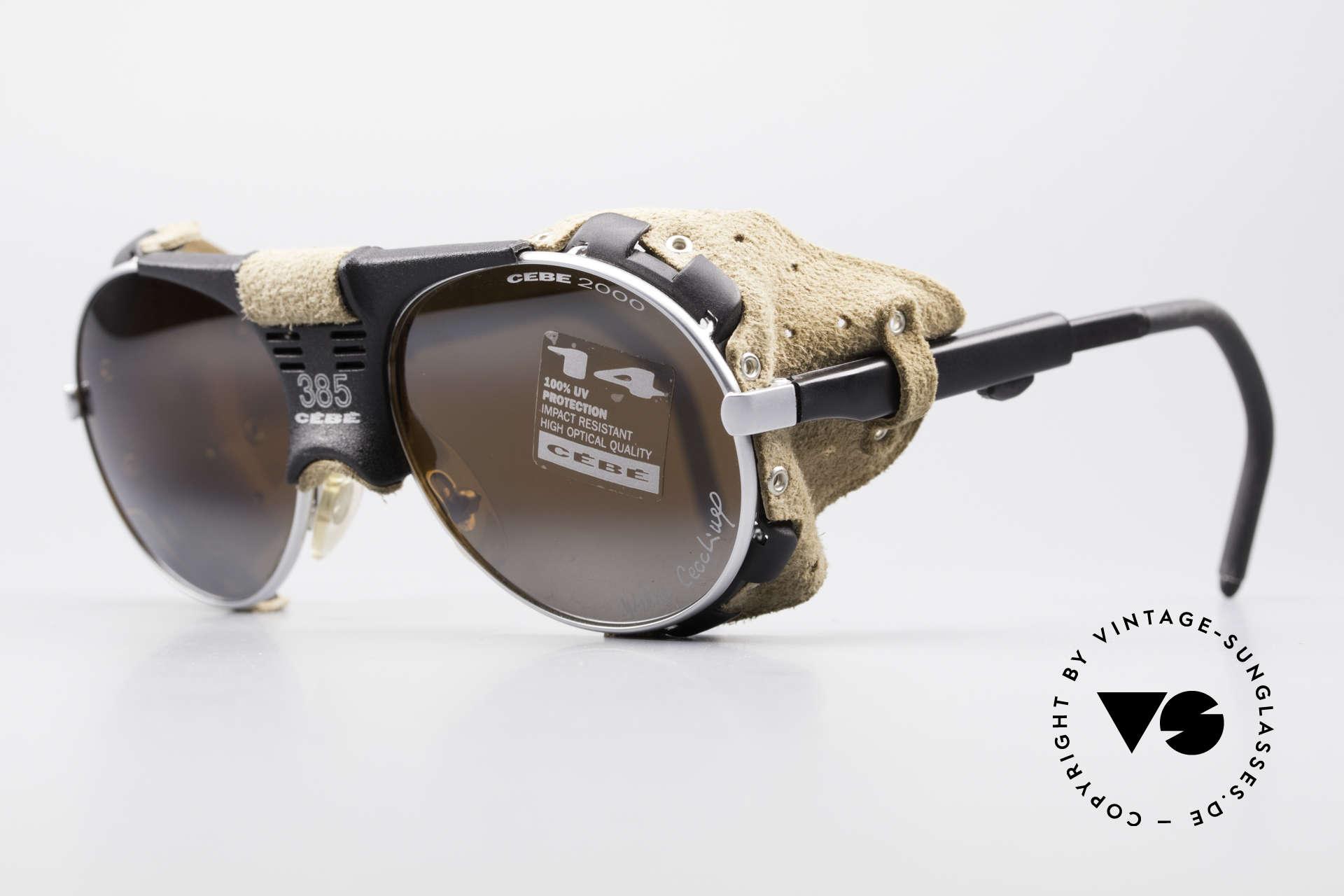 Sunglasses Cebe 385 Walter Cecchinel Ski Shades  f528d9cf06f