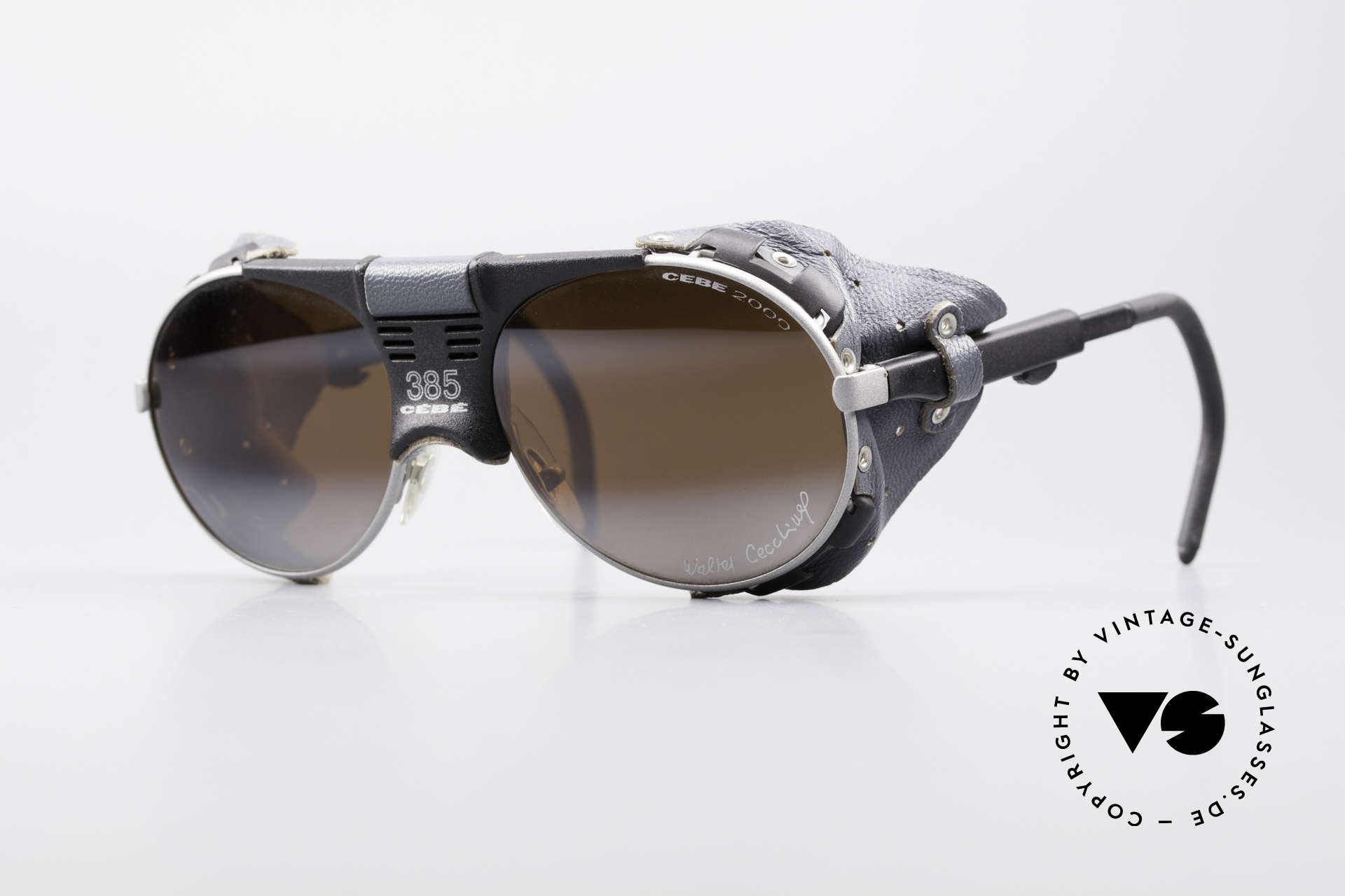 Cebe 385 Walter Cecchinel Sunglasses, vintage Cebe sports shades - made for extreme purpose, Made for Men and Women