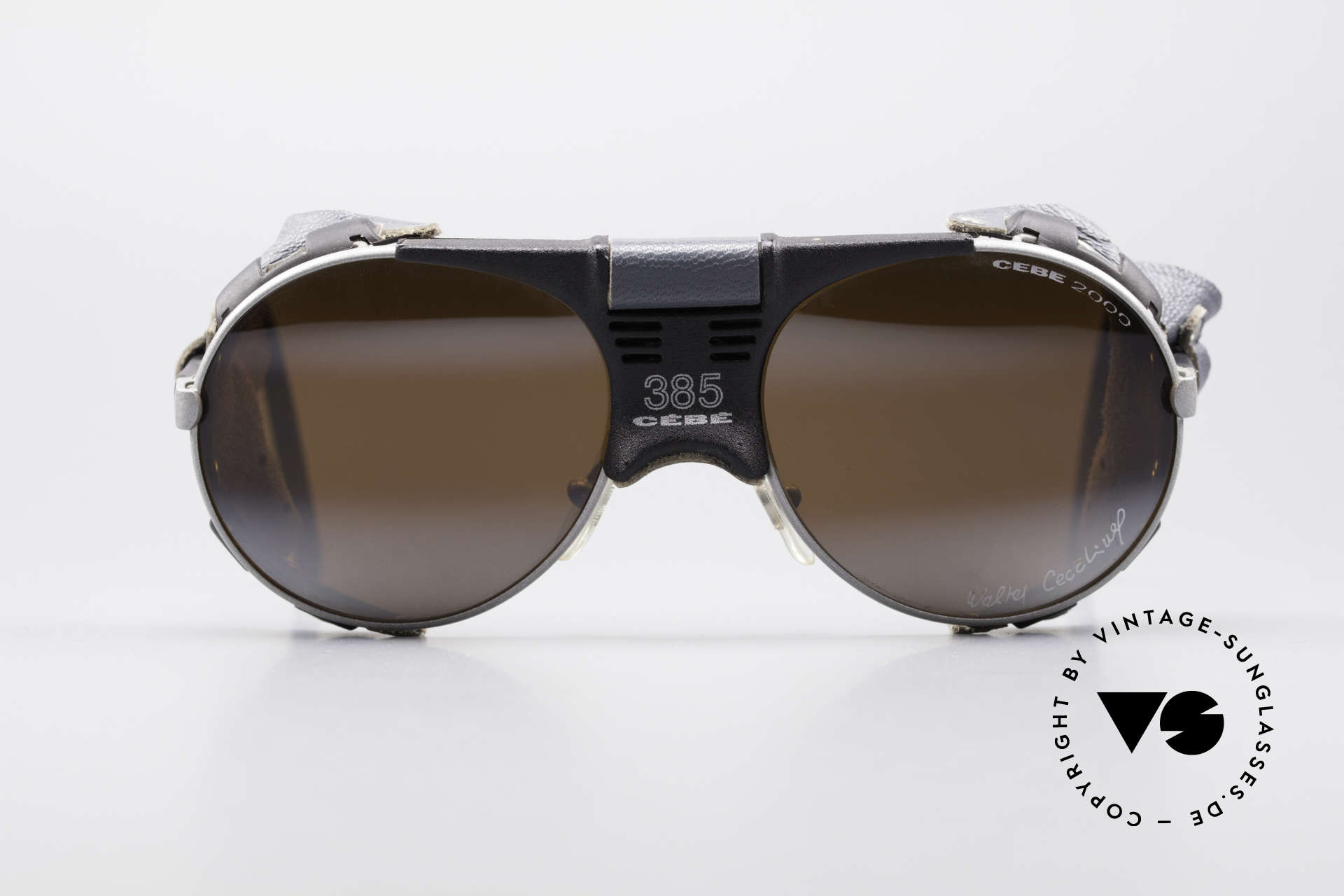 Cebe 385 Walter Cecchinel Sunglasses, engineered for the French alpinist Mr. Walter Cecchinel, Made for Men and Women