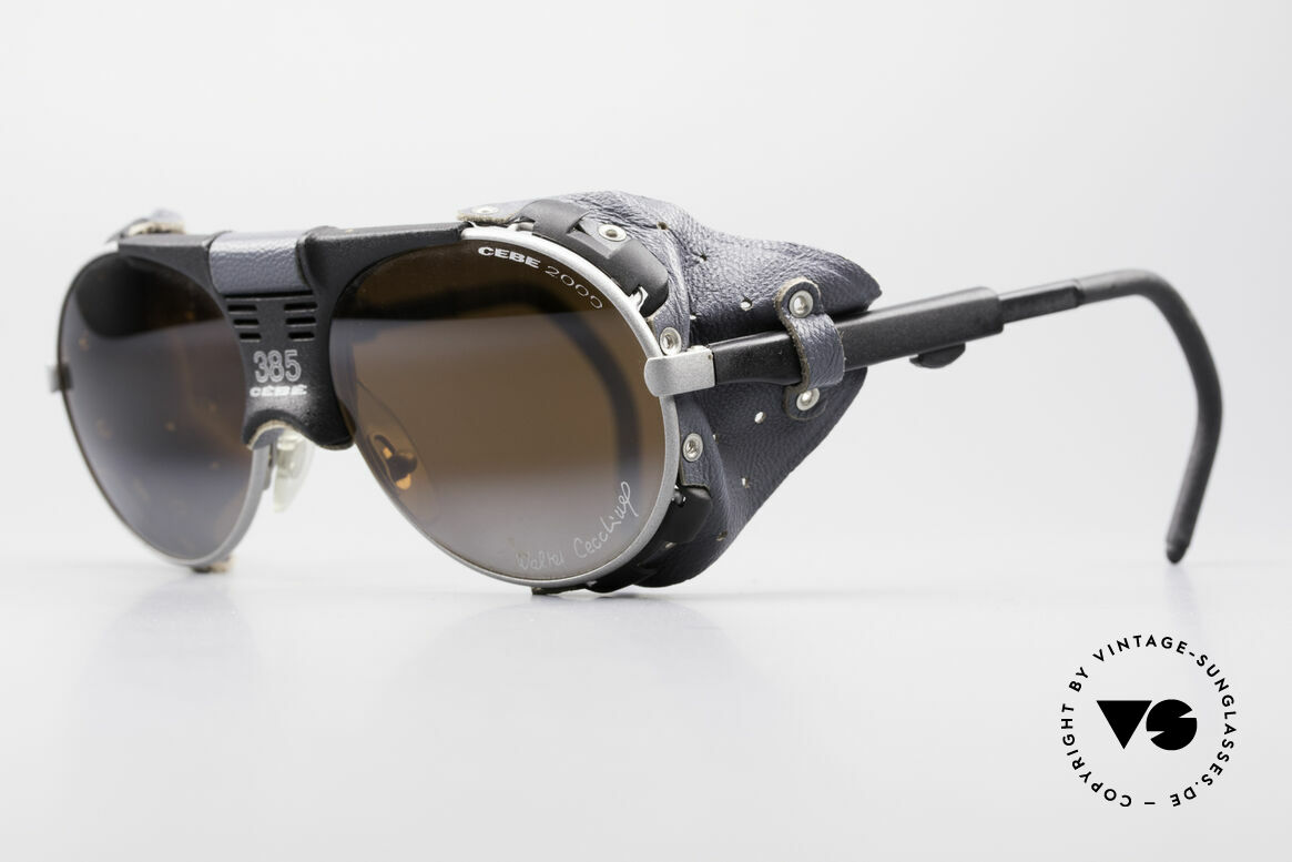 Cebe 385 Walter Cecchinel Sunglasses, impact resistant lenses for extreme sun intensity; 100%, Made for Men and Women