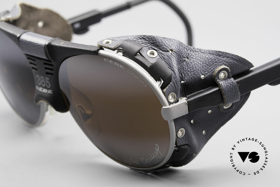 Cebe 385 Walter Cecchinel Sunglasses, adjustable temples & side shields (for a perfect fitting), Made for Men and Women