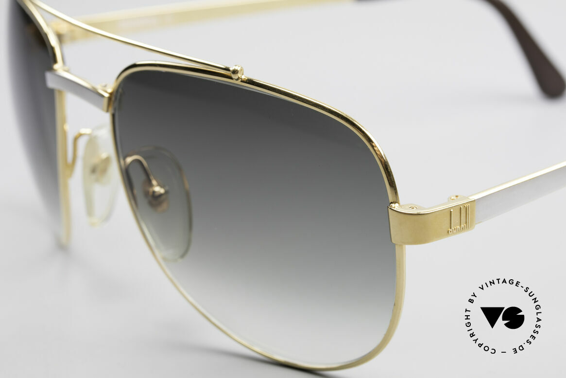 Dunhill 6029 Gold Plated Luxury Sunglasses, an elegant vintage classic with Aston Martin case, Made for Men