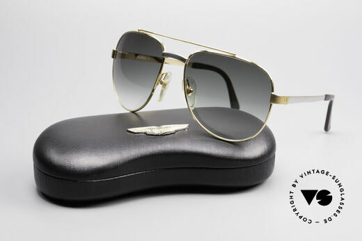 Dunhill 6029 Gold Plated Luxury Sunglasses, NO RETRO, but a precious 35 years old ORIGINAL, Made for Men