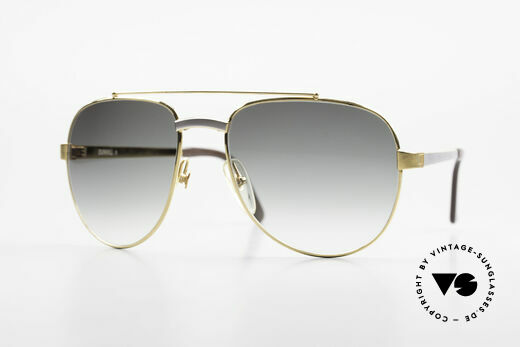 Dunhill 6029 Gold Plated Luxury Sunglasses Details