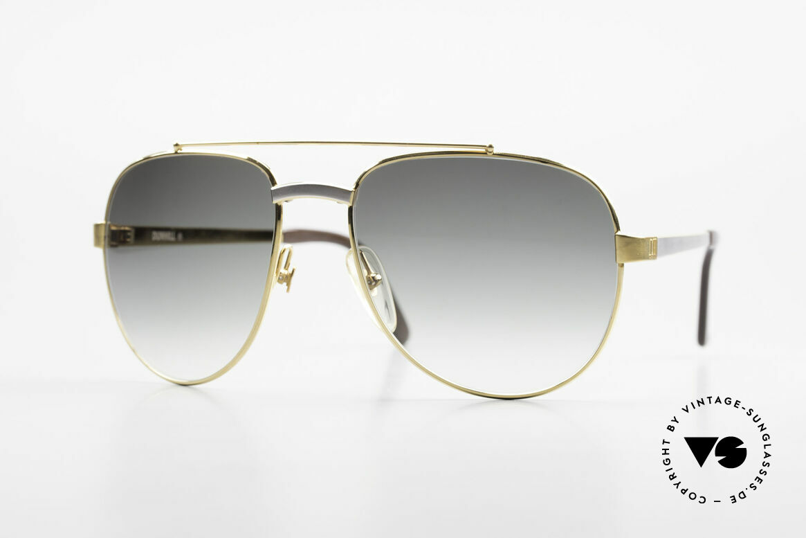 Dunhill 6029 Gold Plated Luxury Sunglasses, brilliant Comfort-Fit: hinges joint on the bridge, Made for Men