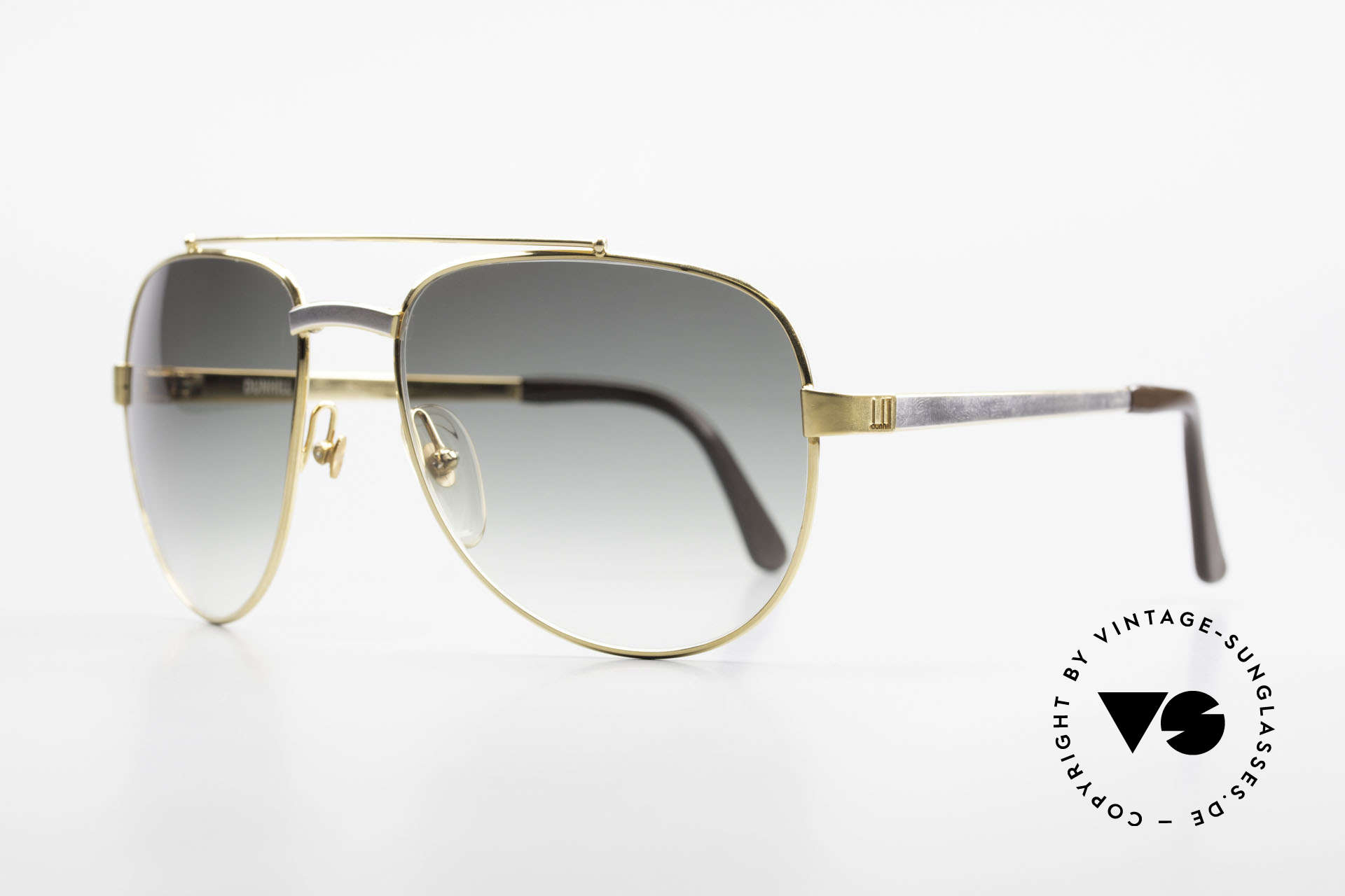 Dunhill 6029 Gold Plated Luxury Sunglasses, gold-plated & rhodanized frame = luxury shades, Made for Men