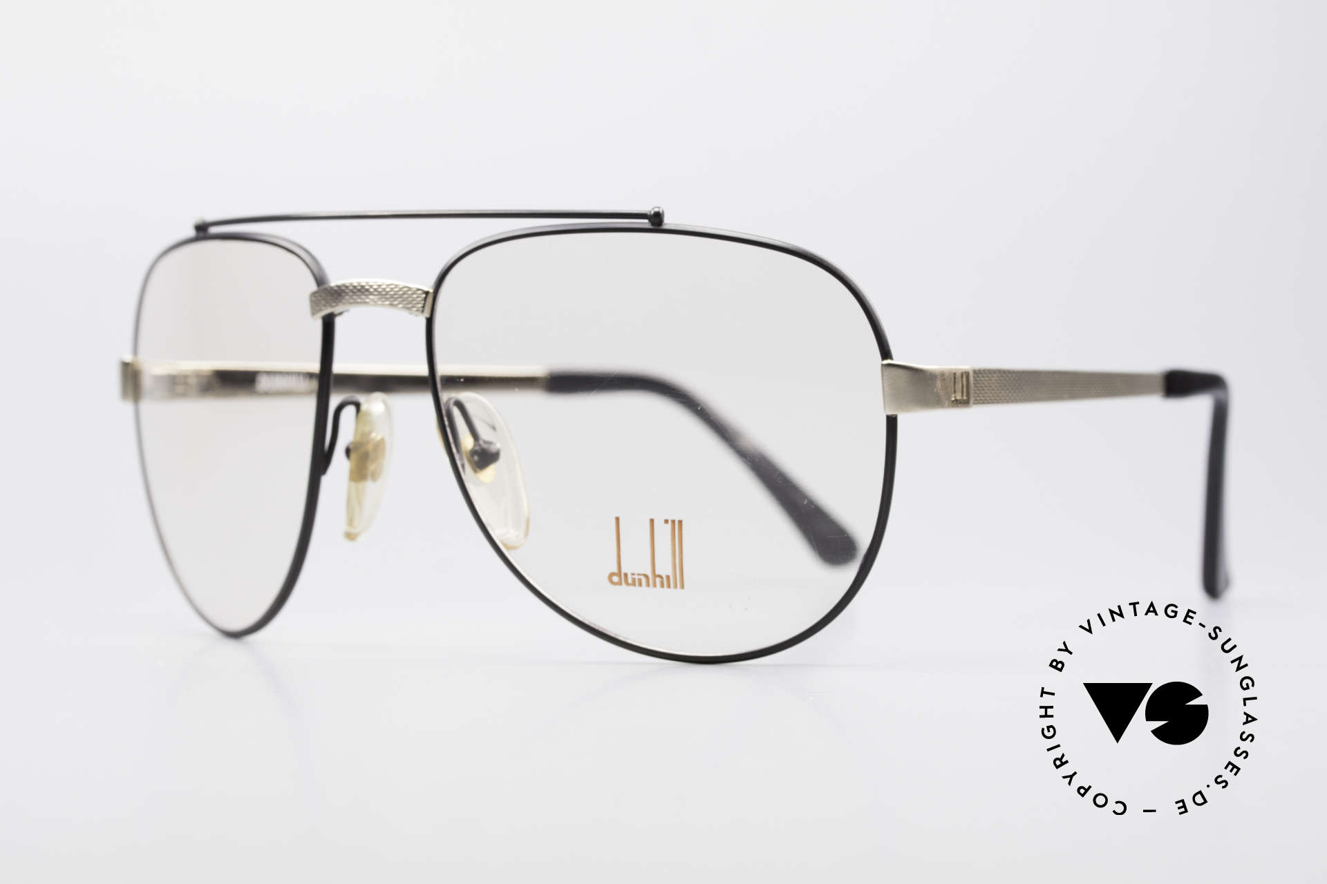 Dunhill 6029 Comfort Fit Luxury Eyeglasses, gold-plated & BARLEY: hundreds of minute facets, Made for Men