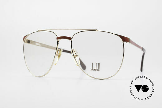 Dunhill 6034 Chinese Lacquer Luxury Frame Details