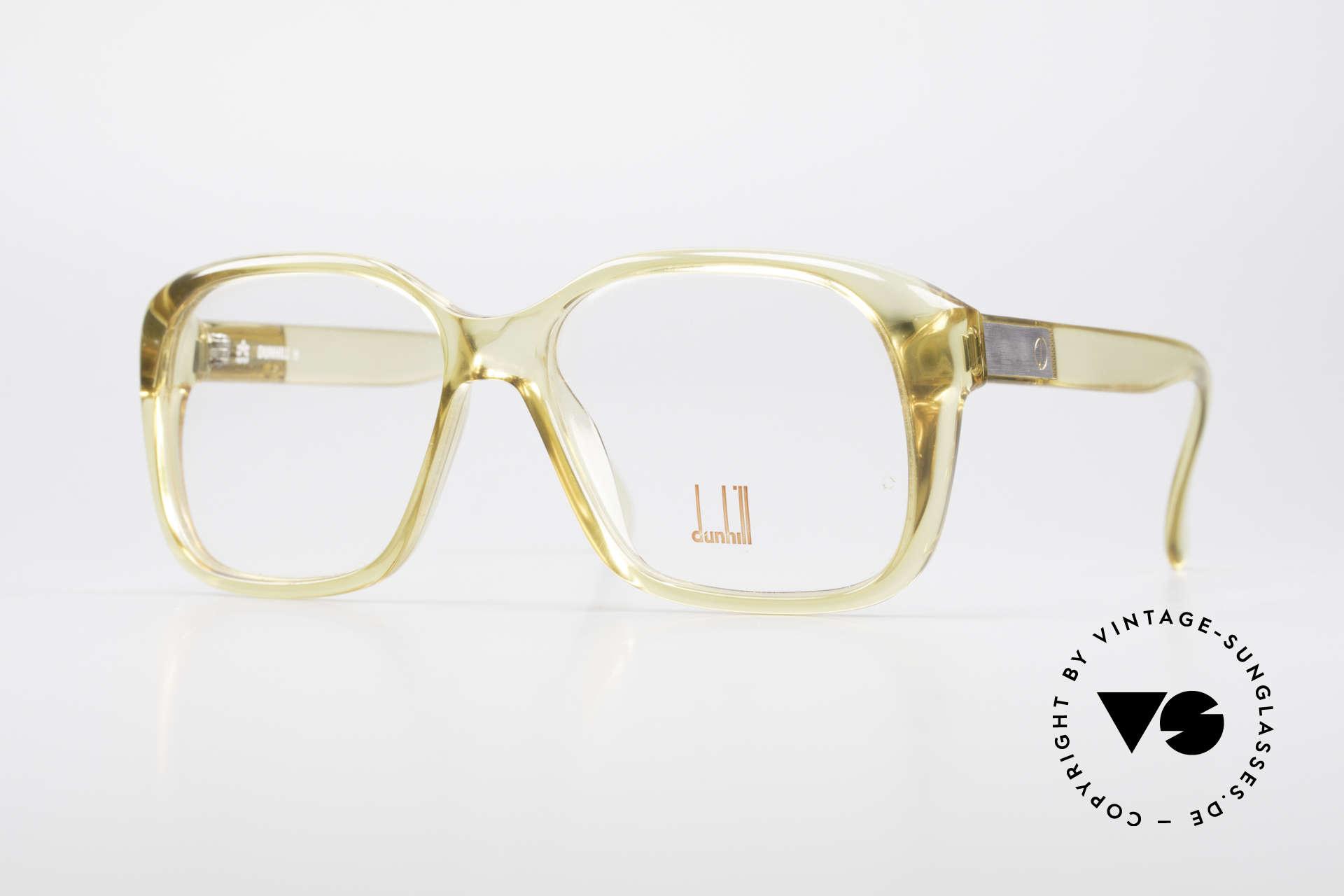 Dunhill 6013 80's Old School Goliath Frame, vintage designer eyeglass-frame by Dunhill from 1983, Made for Men