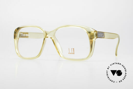 Dunhill 6013 80's Old School Goliath Frame Details