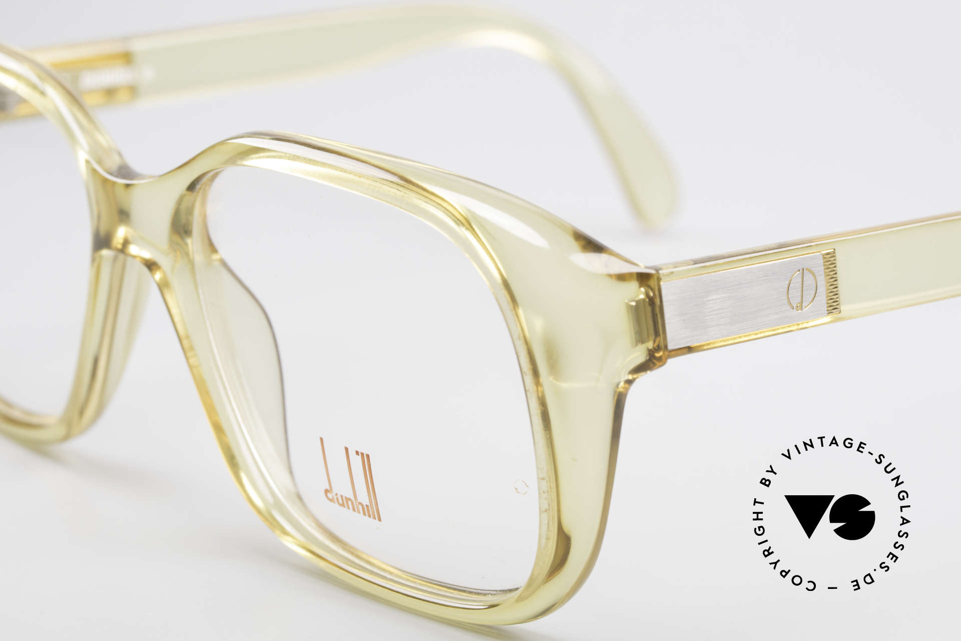 Dunhill 6013 80's Old School Goliath Frame, best quality & very pleasant to wear (OPTYL material), Made for Men