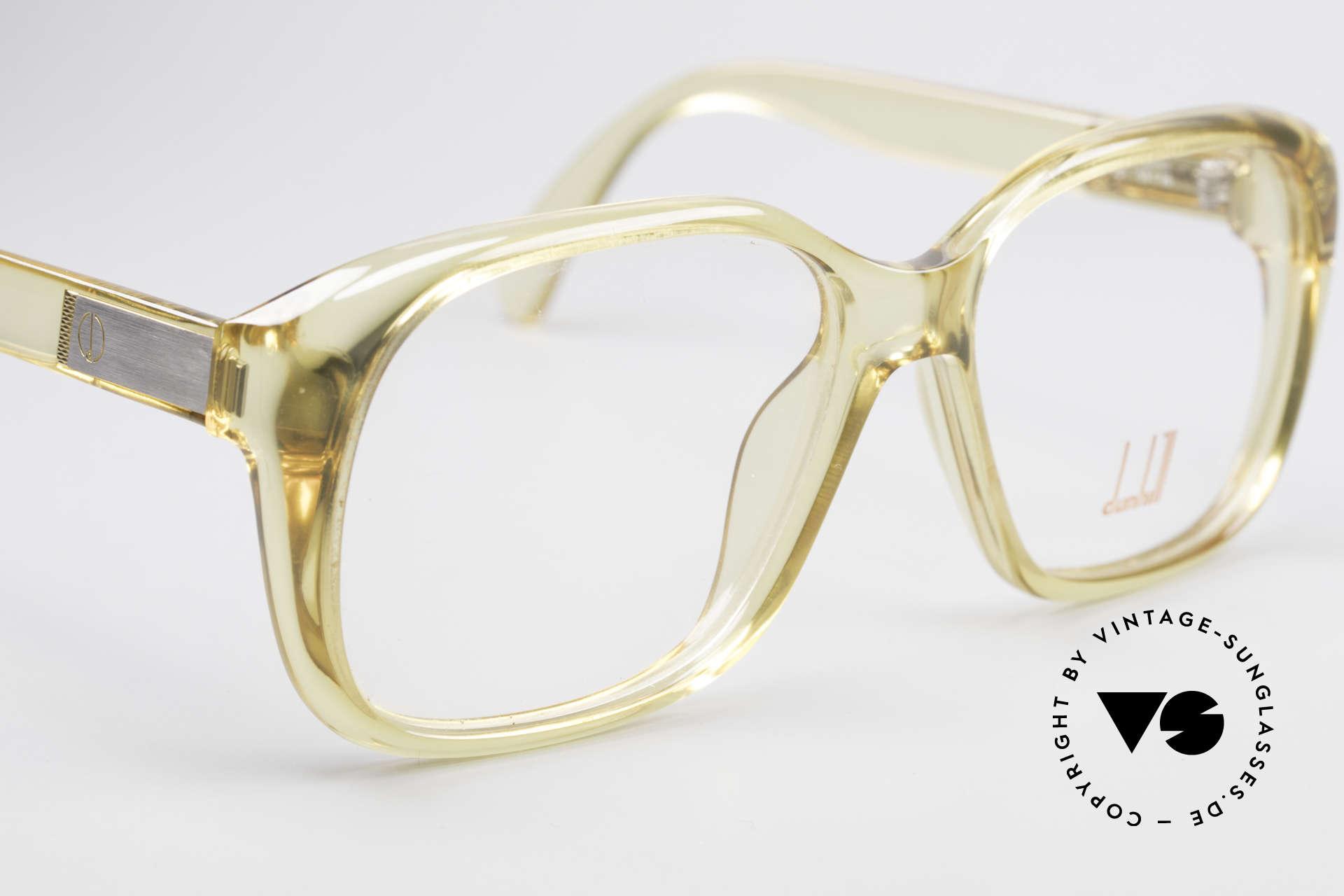 Dunhill 6013 80's Old School Goliath Frame, unworn (like all our VINTAGE Dunhill eyeglass-frames), Made for Men