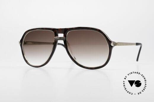 Dunhill 6085 Gentleman Aviator Sunglasses Details