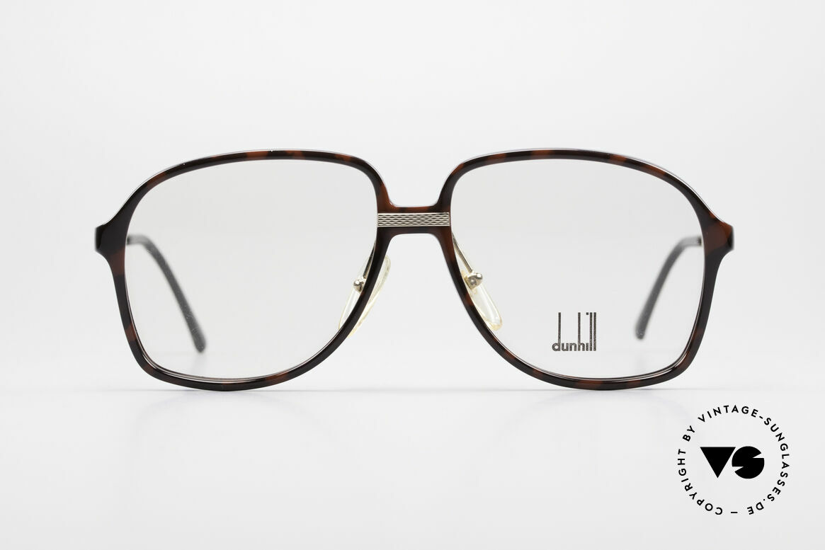 Dunhill 6053 80's Vintage Eyeglasses Men, combination of finest materials: gold-plated temples, Made for Men