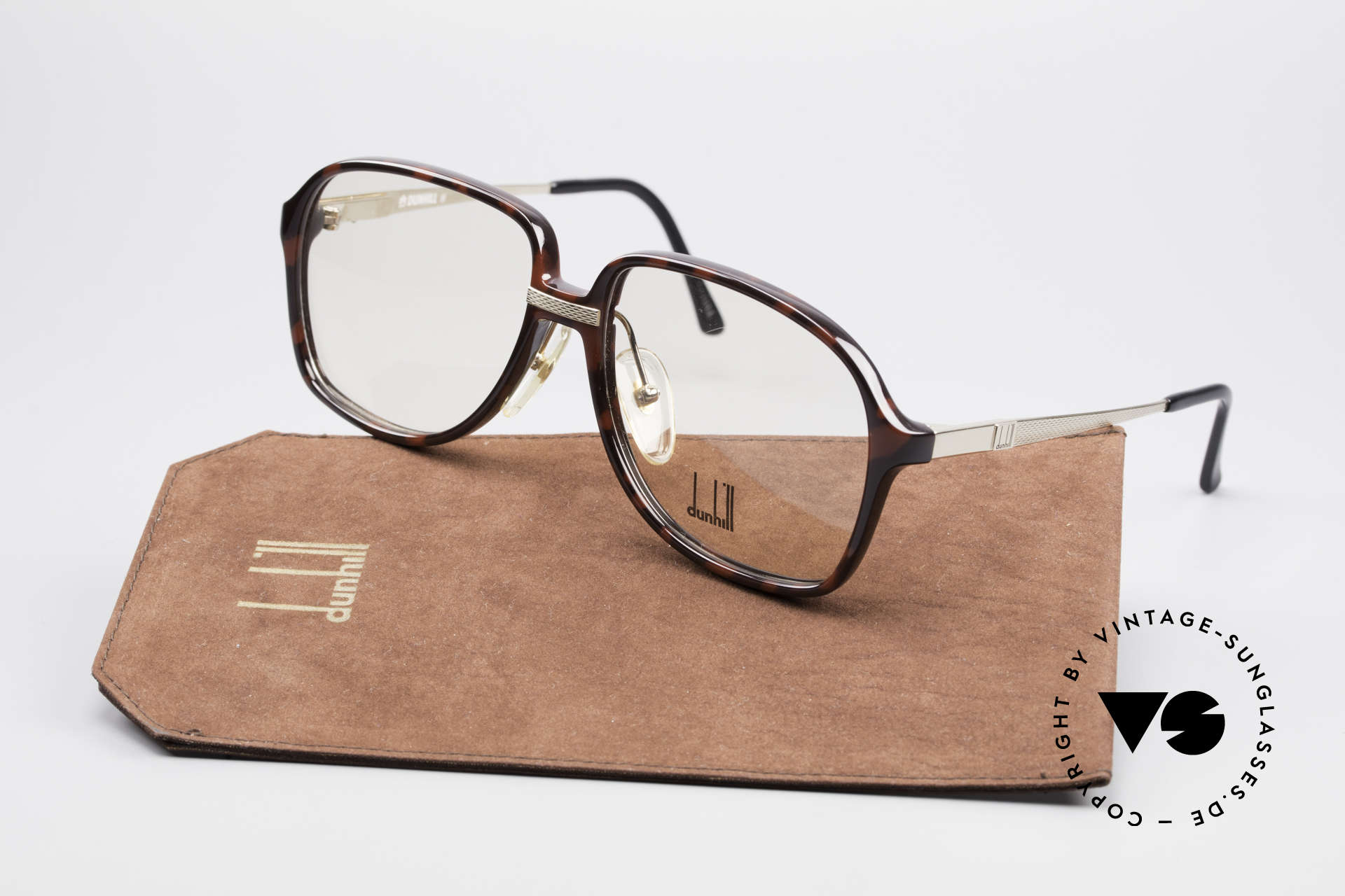 Dunhill 6053 80's Vintage Eyeglasses Men, NO RETRO SPECS, but a rare 30 years old original!!, Made for Men