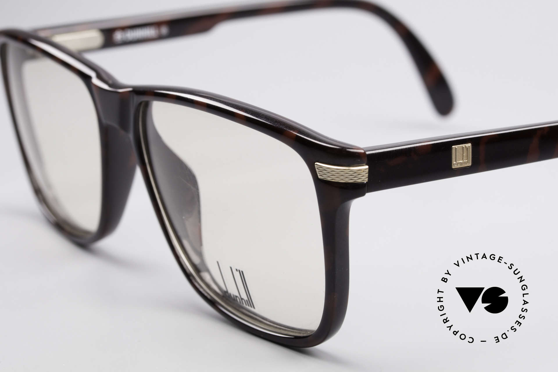 Dunhill 6055 Johnny Depp Nerd Style Frame, unworn (like all our vintage Dunhill 80s glasses), Made for Men