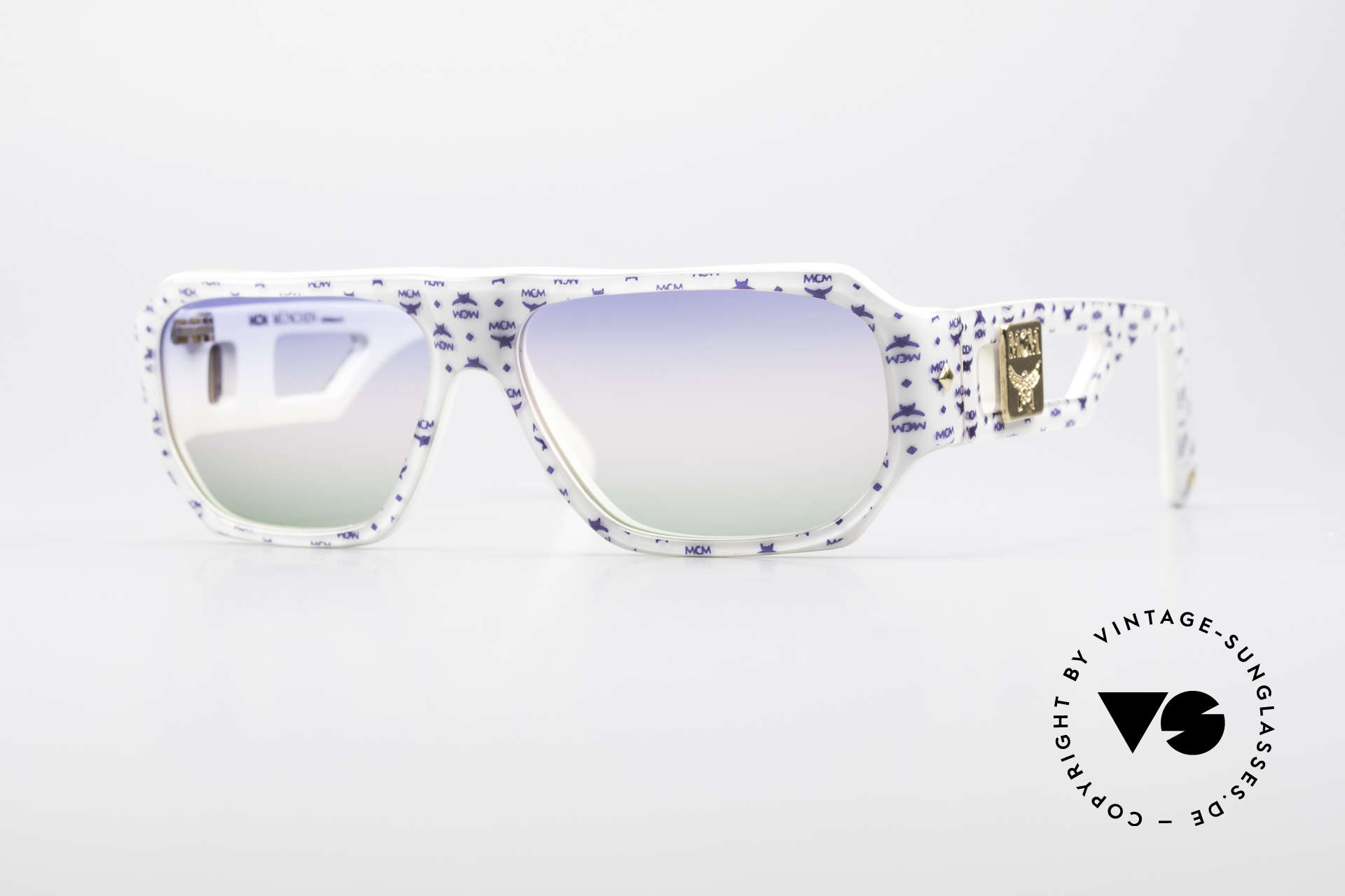 MCM München A2 Rare 80's Designer Sunglasses, original MCM = Mode Creation Munich (MCM), Made for Men and Women