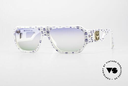MCM München A2 Rare 80's Designer Sunglasses Details