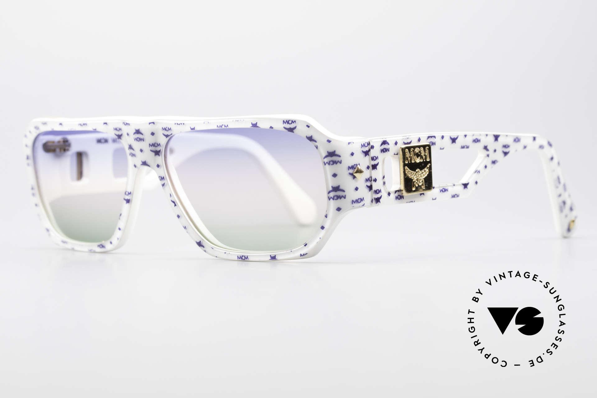 MCM München A2 Rare 80's Designer Sunglasses, massive frame & convincing quality (handmade), Made for Men and Women