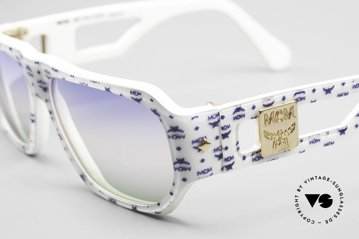 MCM München A2 Rare 80's Designer Sunglasses, pompous, striking & extravagant = typically MCM, Made for Men and Women
