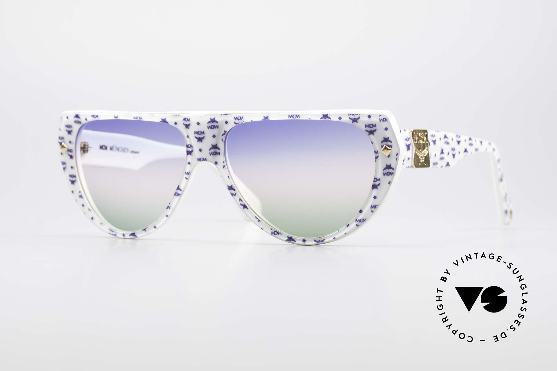 MCM München A1 Hip Hop Designer Sunglasses, ORIGINAL MCM = Mode Creation Munich (MCM), Made for Men and Women