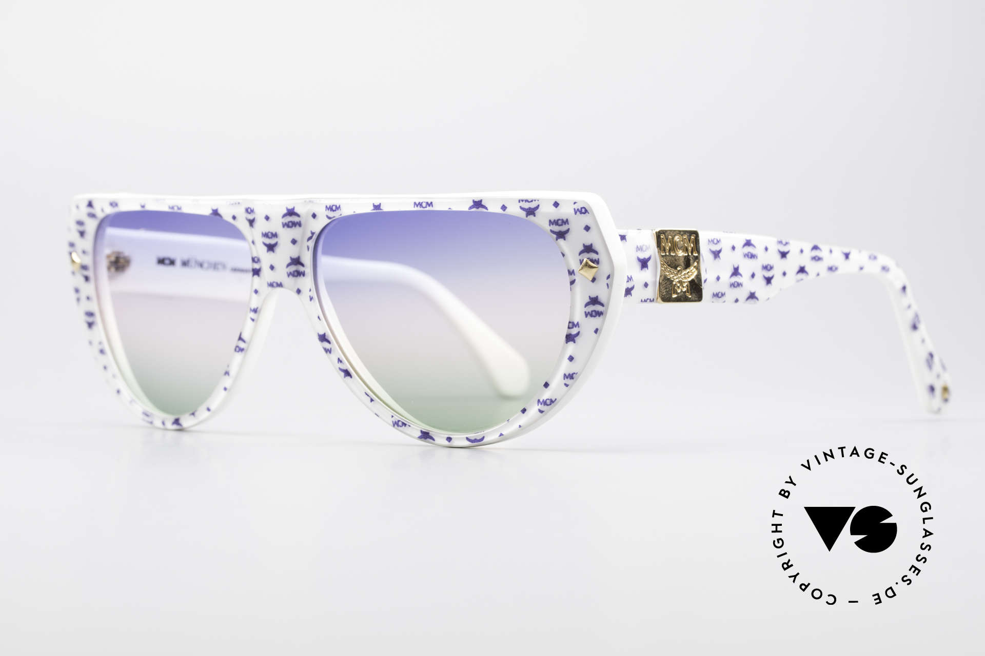 MCM München A1 Hip Hop Designer Sunglasses, massive frame & convincing quality (handmade), Made for Men and Women