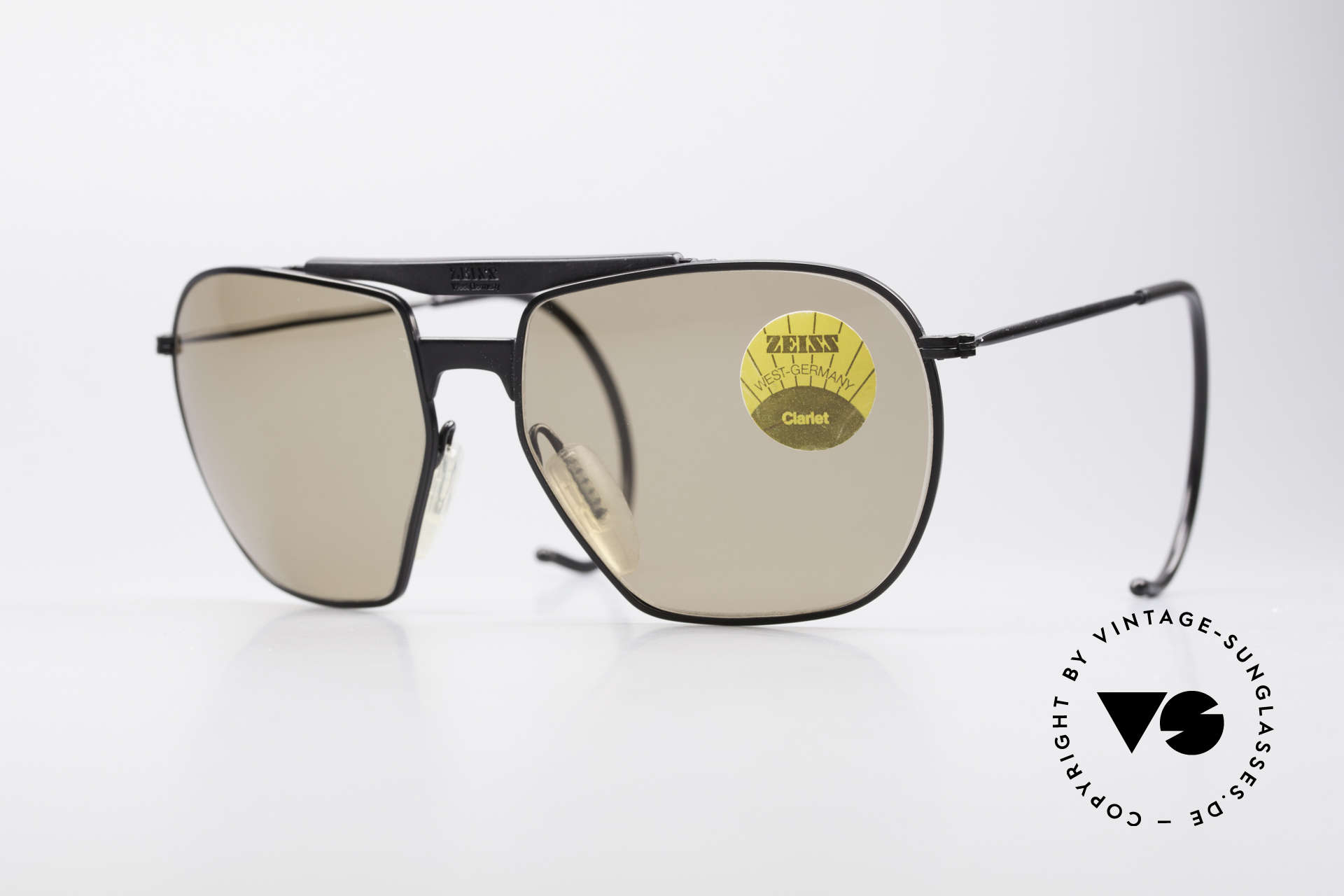 Zeiss 9911 Sport Vintage Sunglasses 80's, legendary classic sunglasses by ZEISS, MEDIUM size, Made for Men