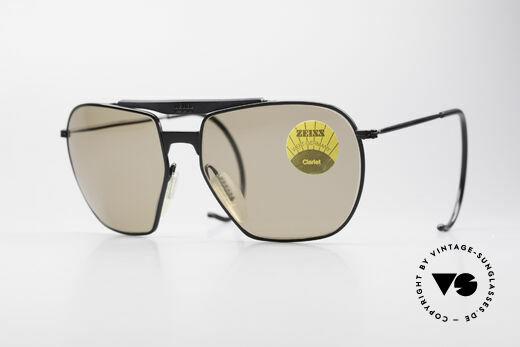 Zeiss 9911 Sport Vintage Sunglasses 80's Details
