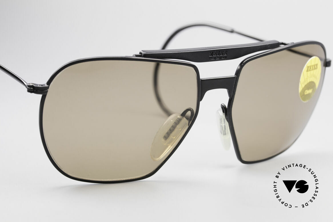 Zeiss 9911 Sport Vintage Sunglasses 80's, never worn; like all our rare vintage eyewear by Zeiss, Made for Men