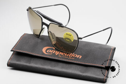 Zeiss 9911 Sport Vintage Sunglasses 80's, ZEISS COMPETITION series: size 60-16 + original case, Made for Men
