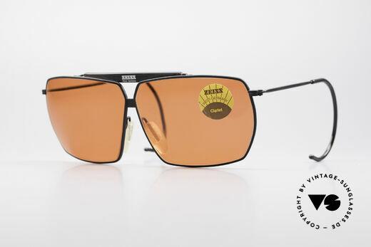 Zeiss 9909 XL Vintage Sunglasses Sport Details