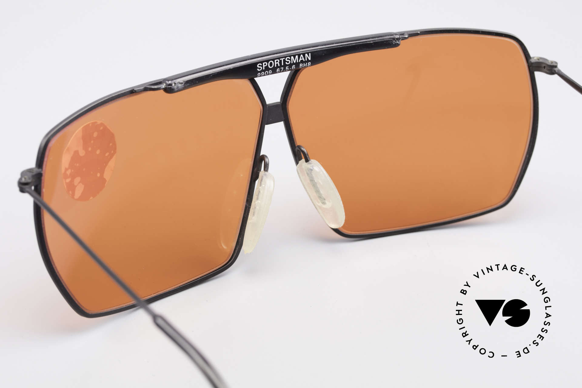 Zeiss 9909 XL Vintage Sunglasses Sport, NO RETRO shades; but an old original from the 1980's, Made for Men