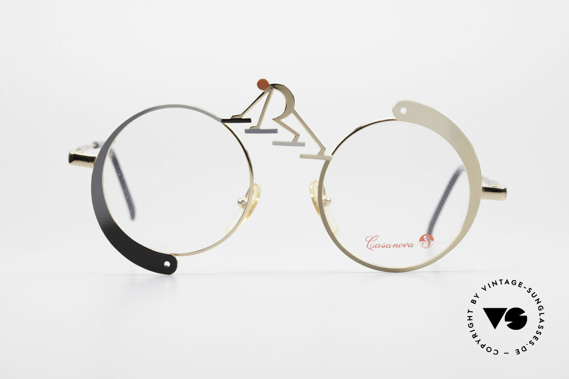 "Casanova SC5 Simbolismo Evolution Glasses, legendary 'Simbolismo-Series' (""symbolist manifesto""), Made for Men and Women"